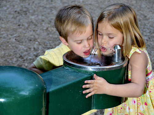 Drinking Fountains for children and kids in pre-schools, daycare centers, elementary schools and more